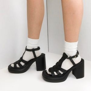 90's Rampage heeled sandals
